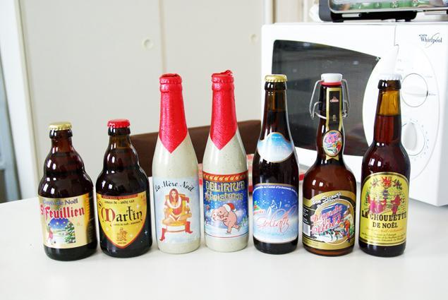verre biere mere noel